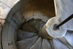 Tour penchée des escaliers de Pise Image libre de droits