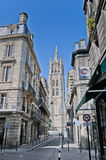 Tour Pey Berland tower at Bordeaux, France Stock Images