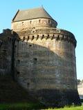 Tour Raoul du chateau de Fougeres ( France ) Stock Images