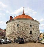 Tour ronde dans Vyborg, Russie Photo libre de droits