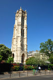 Tour Saint Jacques, Paris Royalty Free Stock Image