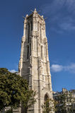 The Tour Saint-Jacques in Paris Stock Photo