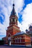 Tour sainte de cathédrale de résurrection de Barysaw photos libres de droits