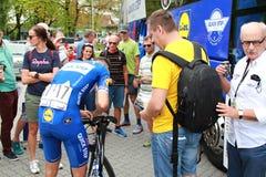Tour of Slovakia 2018 Stock Photo