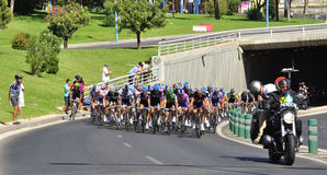 Tour of Spain 2011 Royalty Free Stock Photography