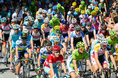 Tour of Spain Royalty Free Stock Image