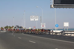 Tour of Spain 2014. Royalty Free Stock Images