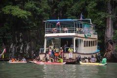 Tour to Beautiful Island Royalty Free Stock Photo