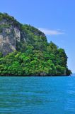 Tour to beautiful tropical island Royalty Free Stock Image
