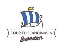 Tour to Scandinavia Royalty Free Stock Photo
