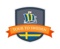 Tour to Sweden Royalty Free Stock Images