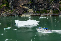 Tour to Tracy Arm Glacier Stock Photos