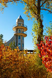 The tour tower in autumn Stock Photography
