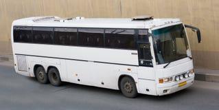 Tour travel bus. A tour bus travel speed Royalty Free Stock Photo