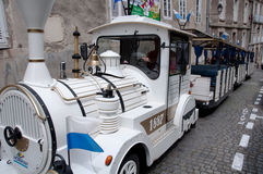 Tour Trolley in Vannes, France Royalty Free Stock Images