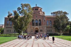 Tour of UCLA Campus Royalty Free Stock Image