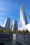 Tour une New York City de World Trade Center Images libres de droits