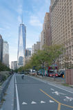 Tour une New York City de World Trade Center Image libre de droits