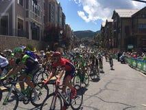 Tour of Utah 2015. Start of the final leg of the tour of Utah 2015 Royalty Free Stock Photo