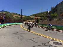 Tour of Utah 2015. Start of the final leg of the tour of Utah 2015 Stock Images