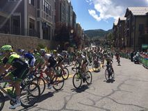 Tour of Utah 2015. Start of the final leg of the tour of Utah 2015 Royalty Free Stock Image