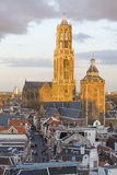 Tour Utrecht, Pays-Bas des DOM Photo stock
