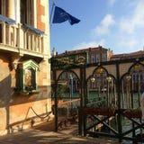 Tour Venice. Gondola, Dusk, Venice, Italy Royalty Free Stock Image