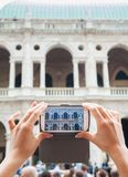 A tour in Vicenza Royalty Free Stock Image
