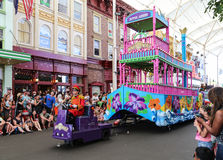 The tour in warner bros movie world,gold coast,australia Royalty Free Stock Photos