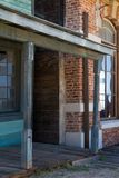 Old Wild West Town Movie Set in Mescal, Arizona Royalty Free Stock Images
