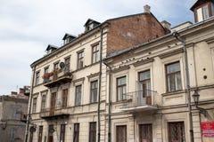 Tour on the Zamosc city. Royalty Free Stock Photos