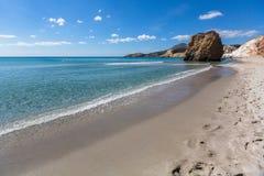 Touraille de ¡ de Ð d'île de Milos, mer Égée, Grèce nature images stock