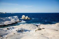 Touraille de ¡ de Ð d'île de Milos, mer Égée, Grèce nature photos libres de droits