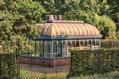 Tourainer pawilon w MÃ ¼ lheim dera Ruhr fotografia royalty free