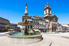Toural Square, Guimaraes Stock Photography