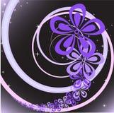 Tourbillon de fleur illustration libre de droits