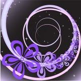 Tourbillon de fleur illustration stock