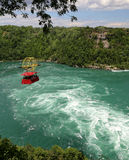 Tourbillon de Niagara images libres de droits