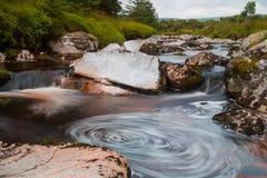 Tourbillon de rivière photo libre de droits