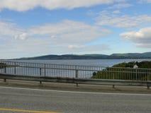 Tourbillon de Saltstraumen de paysage de la Norvège Photo stock