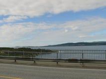 Tourbillon de Saltstraumen de paysage de la Norvège Photo libre de droits