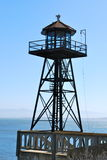 Tourelle d'Alcatraz Photographie stock