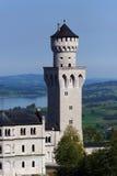 Tourelle de château image stock