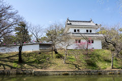 Tourelle de château japonais Photo libre de droits