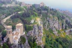 Tourelle de Pepoli, Sicilly, Italie images stock