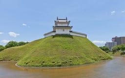 Tourelle de Seimeidai de château d'Utsunomiya, préfecture de Tochigi, Japon Image stock