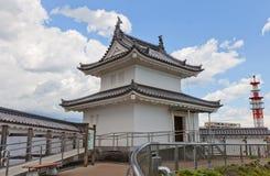 Tourelle de Seimeidai de château d'Utsunomiya, préfecture de Tochigi, Japon Photos stock