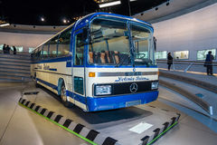 The touring coach Mercedes-Benz O303, 1979 Stock Images