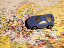 Touring Europe. By car Royalty Free Stock Image