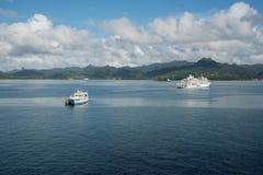 Touring Fiji royalty free stock photography